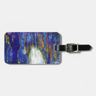 Nature is a fairy tale luggage tag
