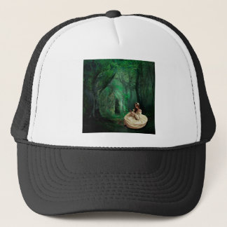 NATURE IS HER ADORNMENT TRUCKER HAT
