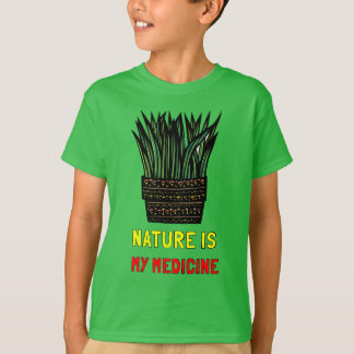"""Nature is My Medicine"" Baby T-Shirt"