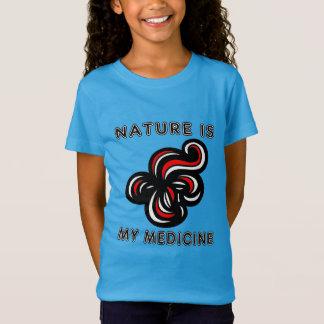 """Nature is My Medicine"" Girls' T-Shirt"