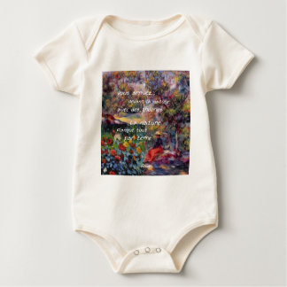 Nature is powerful in art creation baby bodysuit