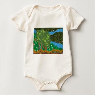 Nature Landscape Baby Bodysuits