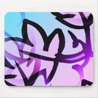 Nature_Leaf(c) lavevder_Glow_ Mouse Pad