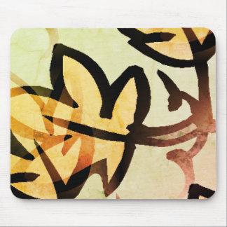 Nature_Leaf(c) Yel_Glow_ Mouse Pad
