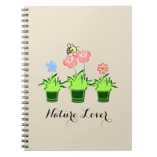 """""""Nature Lover"""" Beautiful Notebook"""