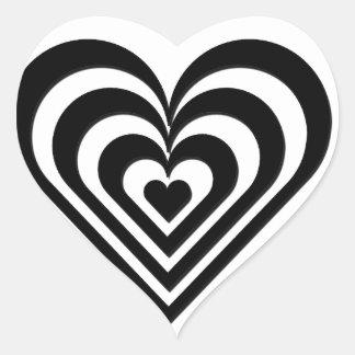 Nature Lover design Heart Sticker