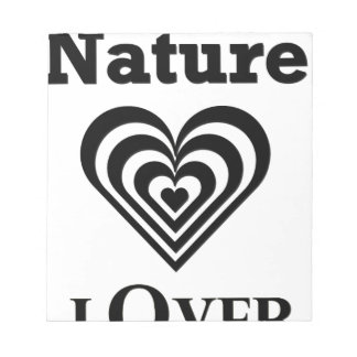 Nature Lover design Notepad