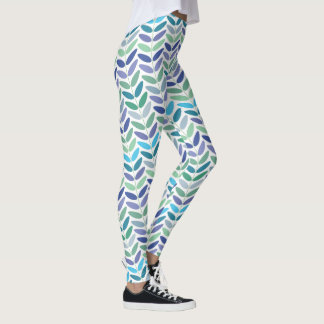 Nature Lover Floral Branch Pattern Leggings