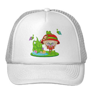 Nature Lover Frog Faery Trucker Hat