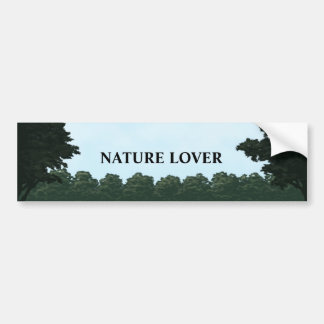 nature lover landscape panorama bumper sticker
