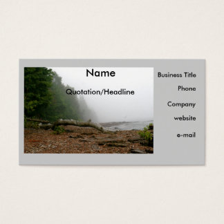 Nature Lover's Business Card