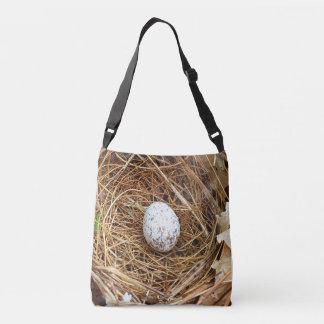 Nature Lovers Cardinal Bird Egg Nest Crossbody Bag
