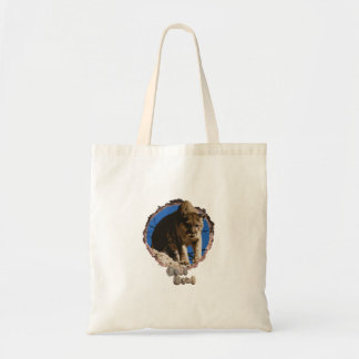 Nature lovers mountain lion tote bag.