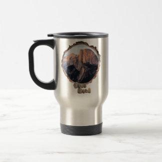 Nature lovers travel mug. travel mug