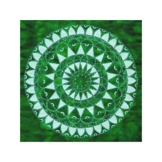 Nature mandala canvas print