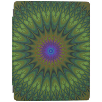 Nature mandala iPad cover
