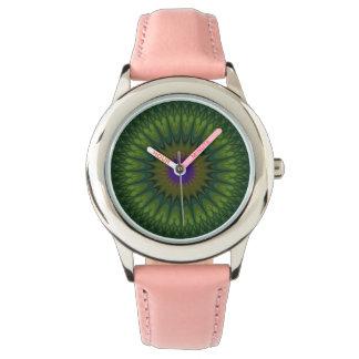 Nature mandala watch