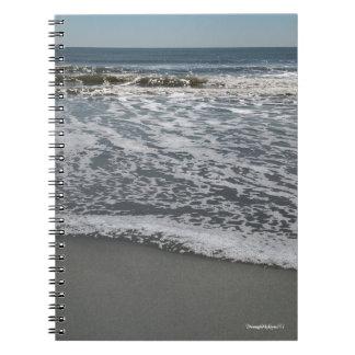 Nature Ocean View Seashore Beach Notebook