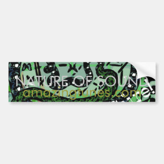 Nature of Sound Bumper Sticker