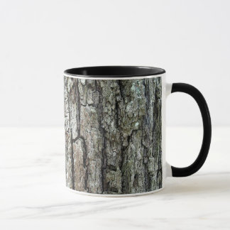 Nature Old Pine Tree Bark Mug