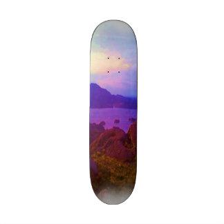 Nature photo art custom skate board