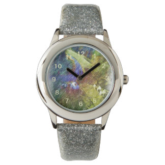 Nature photo drawing wrist watches
