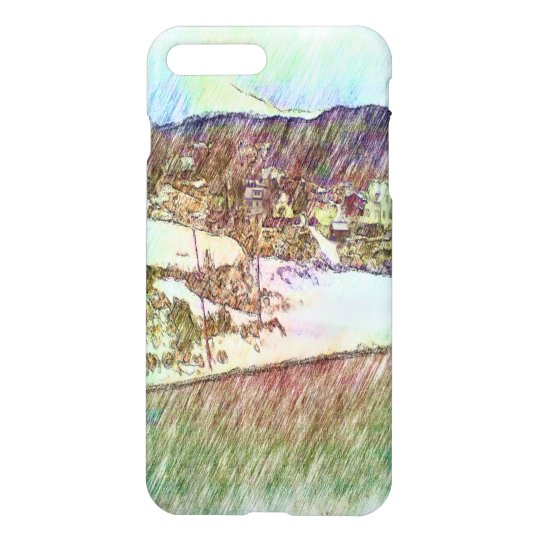 Nature photo paint iPhone 7 plus case