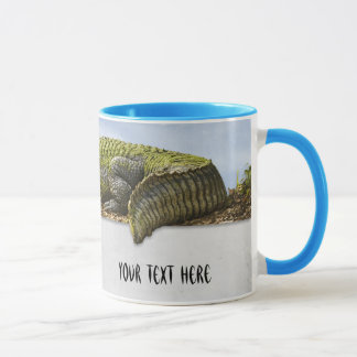 Nature Photography Huge Gator Panoromic Cut Out Mug