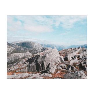 Nature photography |  Mountains | Landscape Canvas Print