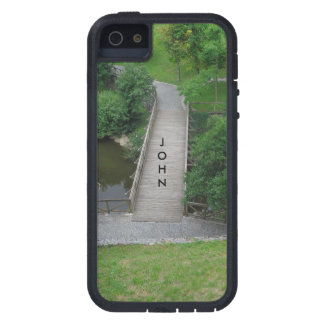 Nature Photography Park Bridge Trees Green iPhone 5 Cases