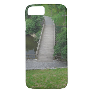 Nature Photography Park Bridge Trees Green iPhone 8/7 Case