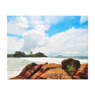 Nature photography |  Rocks | Ocean Canvas Print