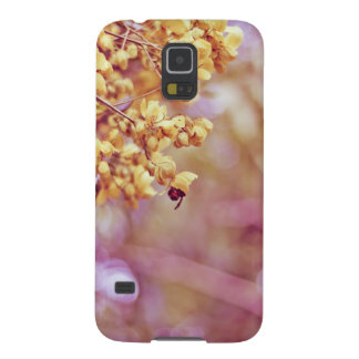 Nature Photography Yellow Blossoms Cases For Galaxy S5