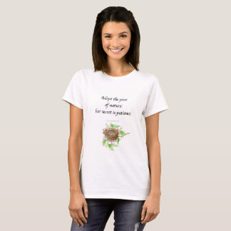 Nature quotation t-shirt