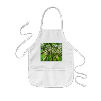 Nature Reaching For The Sky Kids Apron
