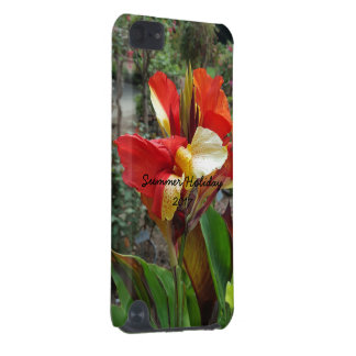 Nature Red Flower Floral Photography iPod Touch 5G Cases