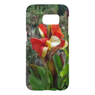 Nature Red Flower Floral Photography Samsung Galaxy S7 Case