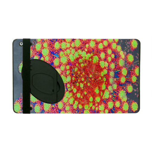 Nature - Red Orange and Yellow Flowers On Water iPad Covers
