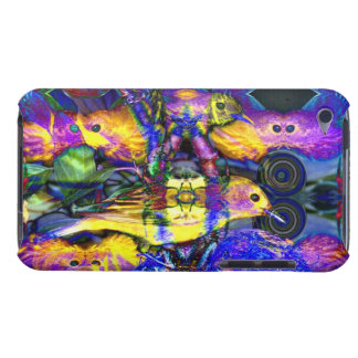 Nature Reflections II - Violet Gold Birds iPod Touch Covers