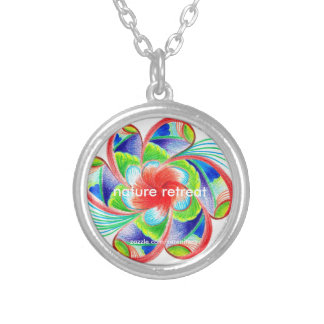 Nature Retreat Silver Plated Necklace