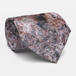 Nature Rock Texture Pinkish Tie