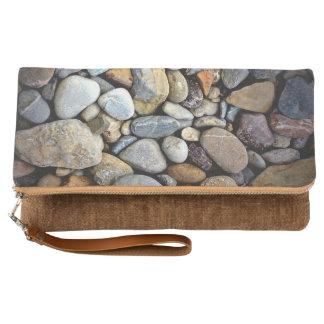Nature Rocks Pebble Template Clutch