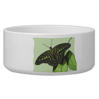 Nature's Camouflage Butterfly Pet Bowls