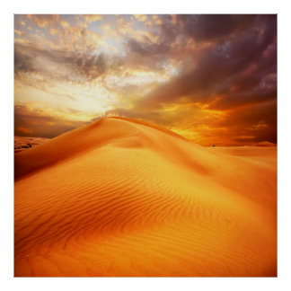 Nature sand Poster