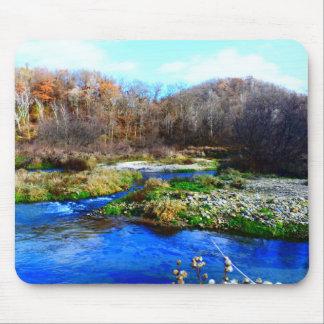 nature scene mouse pad