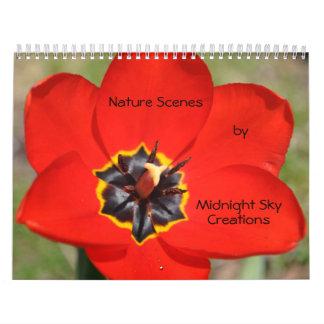 Nature Scenes Calendar