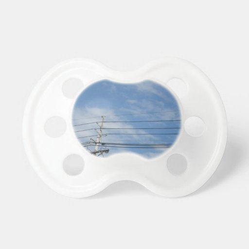 Nature Skyline NewJersey USA Cloud GIFTS nvn673 fu Pacifier