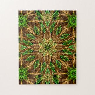 Nature Star Mandala Jigsaw Puzzle