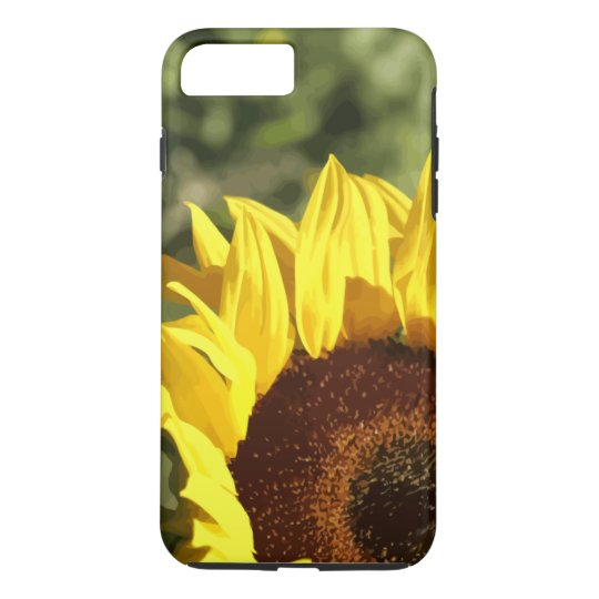Nature Sunflower Abstract iPhone 8 Plus/7 Plus Case