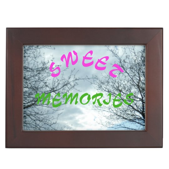 Nature Sweet Memories Pink Beauty Keepsake Box